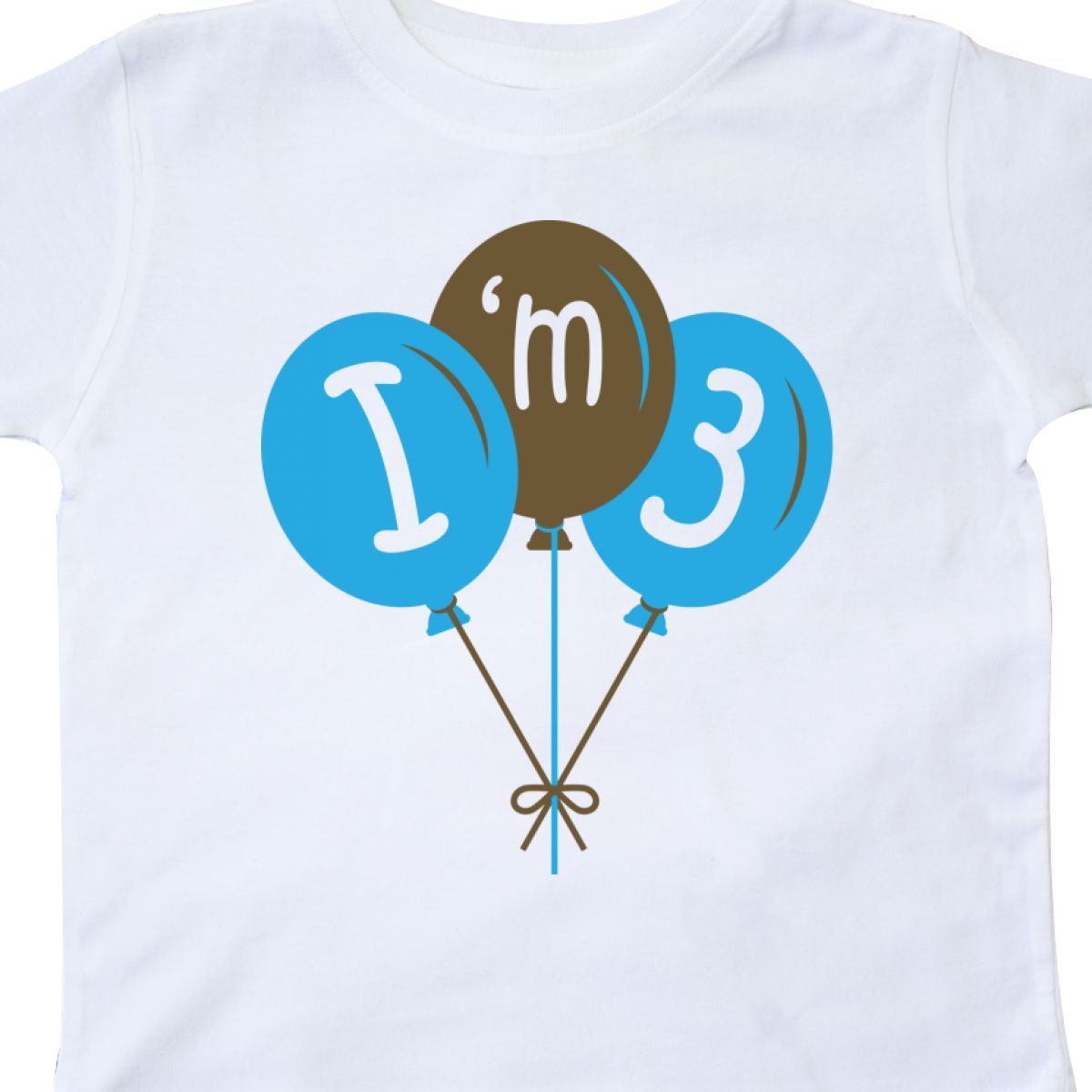Inktastic 3rd Birthday Balloons I 039 M Three