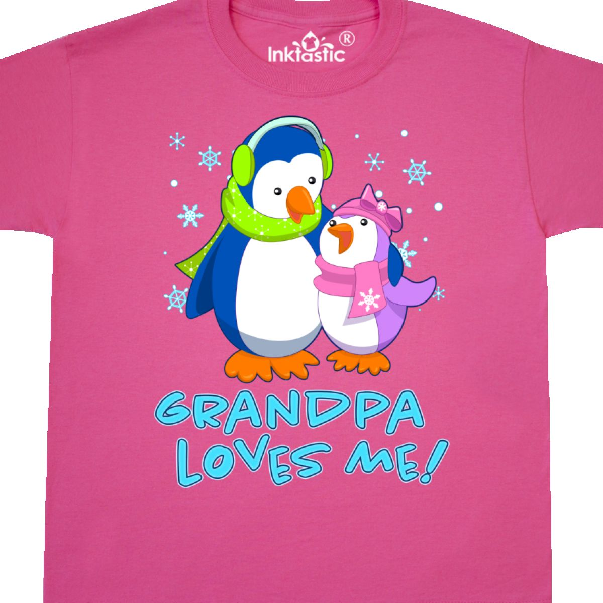 Baby & Toddler Clothing Inktastic My Nonna Loves Me Cute Penguins Infant Dress Family Winter Grandson