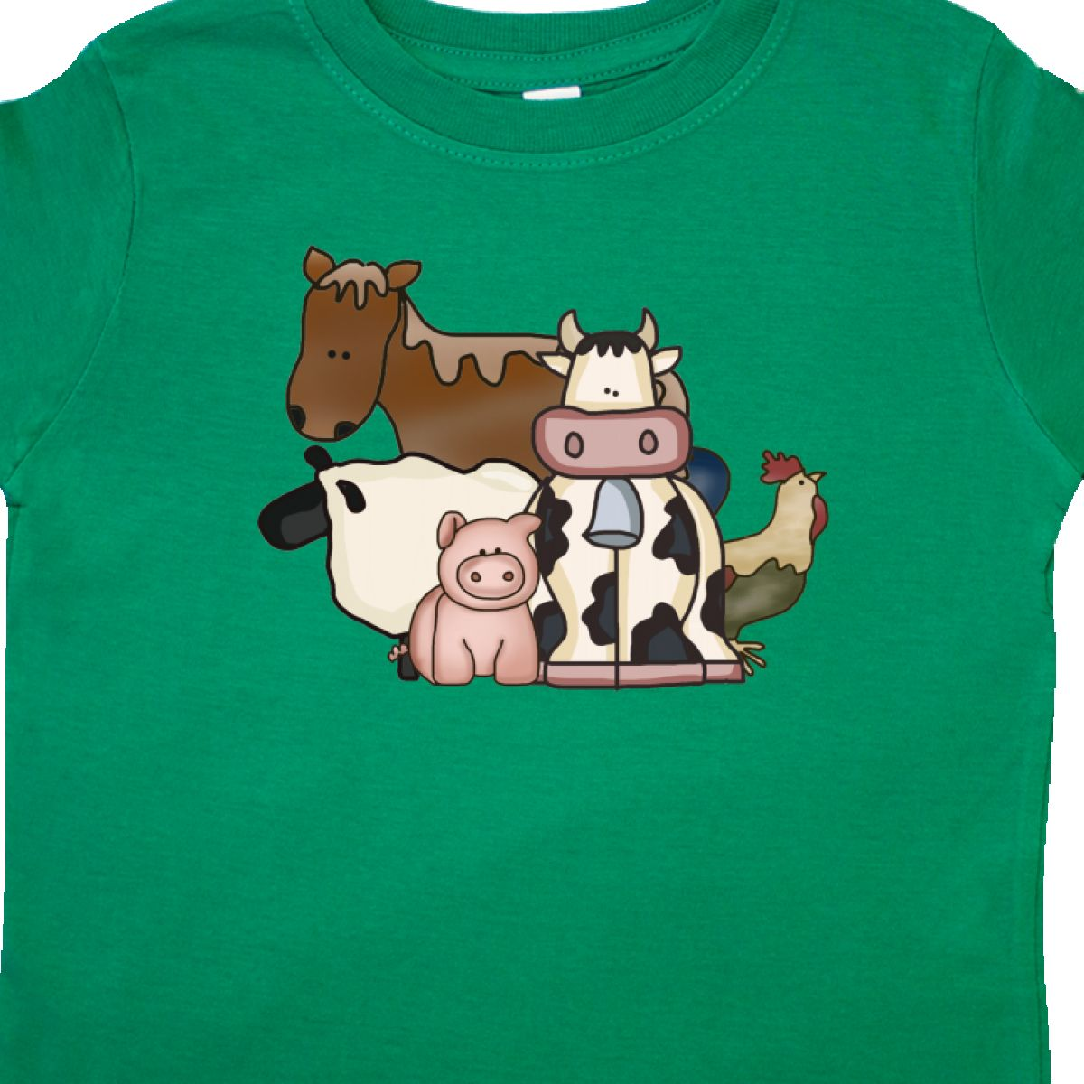 Inktastic-Critters-Toddler-T-Shirt-Horse-Sheep-Cow-Chicken-Pig-Farm-Animals-Gift thumbnail 14