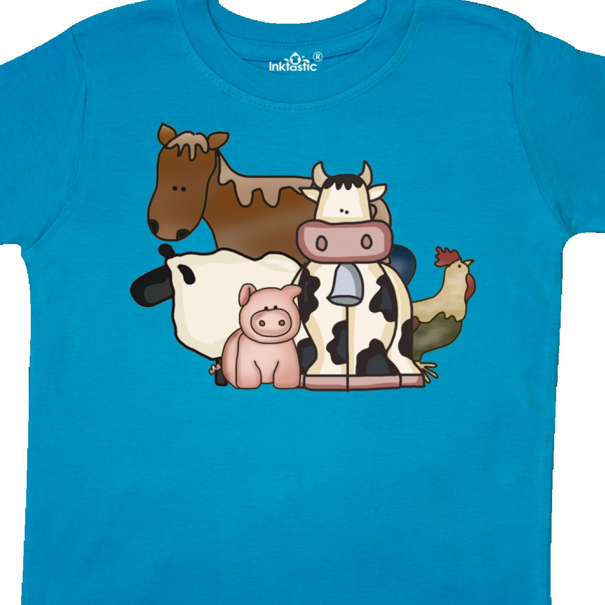 Inktastic-Critters-Toddler-T-Shirt-Horse-Sheep-Cow-Chicken-Pig-Farm-Animals-Gift thumbnail 30