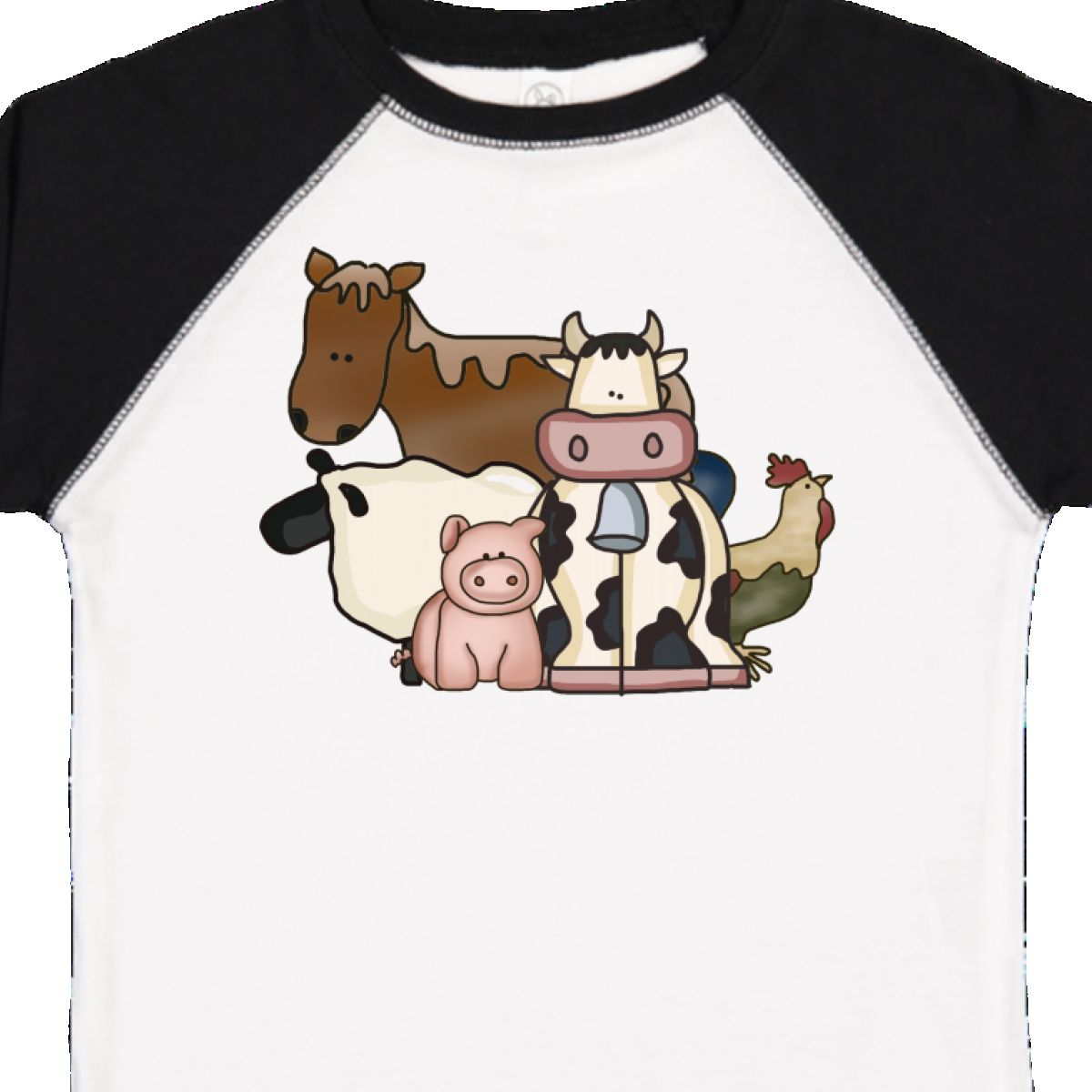 Inktastic-Critters-Toddler-T-Shirt-Horse-Sheep-Cow-Chicken-Pig-Farm-Animals-Gift thumbnail 34