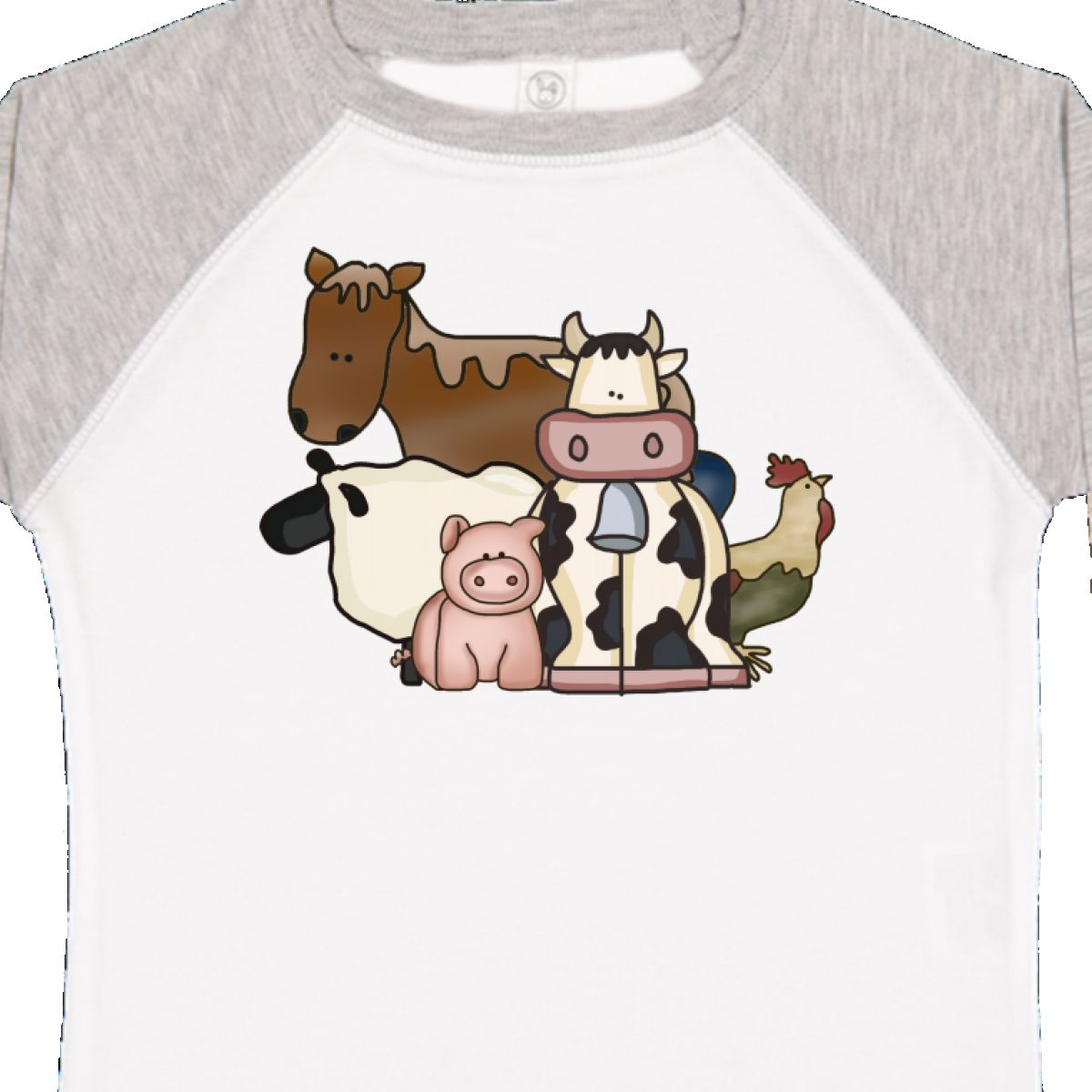 Inktastic-Critters-Toddler-T-Shirt-Horse-Sheep-Cow-Chicken-Pig-Farm-Animals-Gift thumbnail 36
