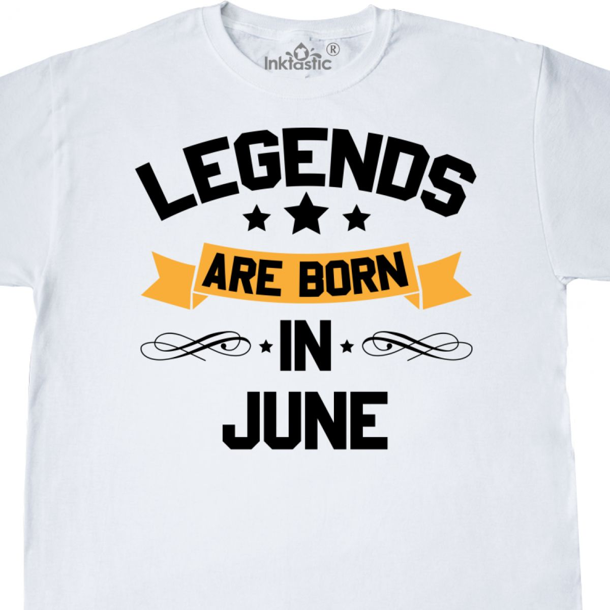 Inktastic Legends Are Born In June T Shirt