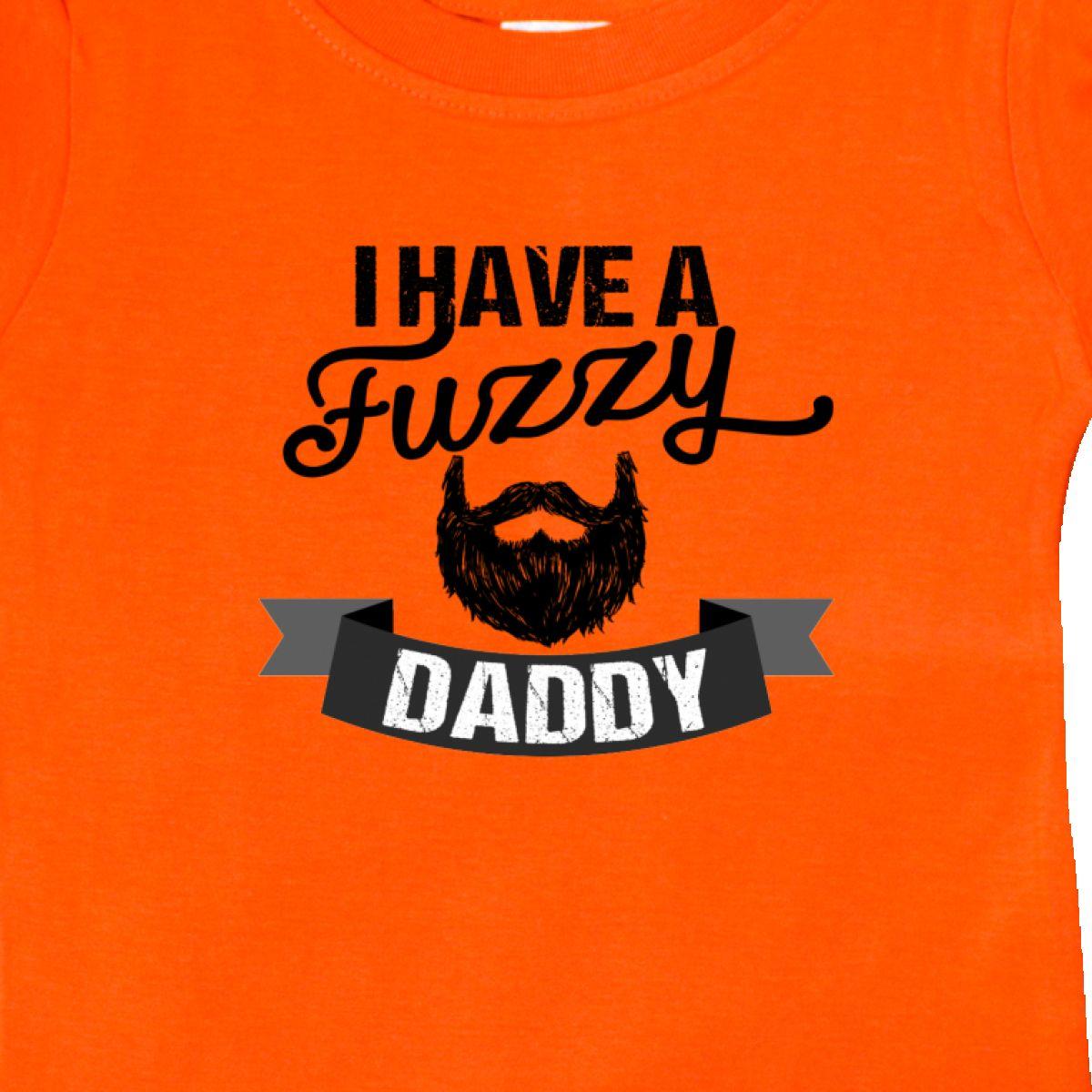 cc96f4f59 Inktastic I Have A Fuzzy Daddy Beard Baby T-Shirt Men Beards Tattoos ...