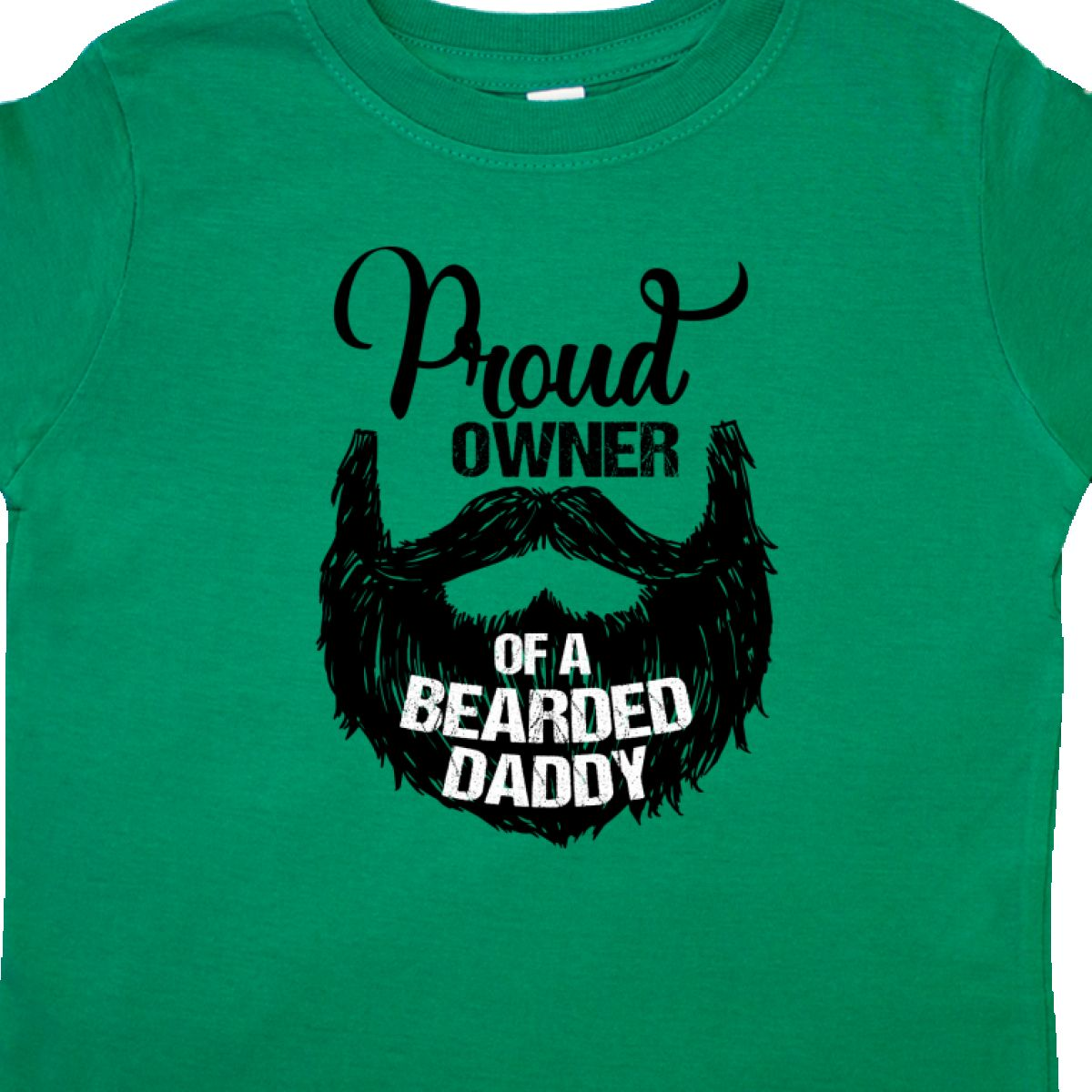 Inktastic-Proud-Owner-Of-A-Bearded-Daddy-Toddler-T-Shirt-Men-Beards-Tattoos-Baby thumbnail 8