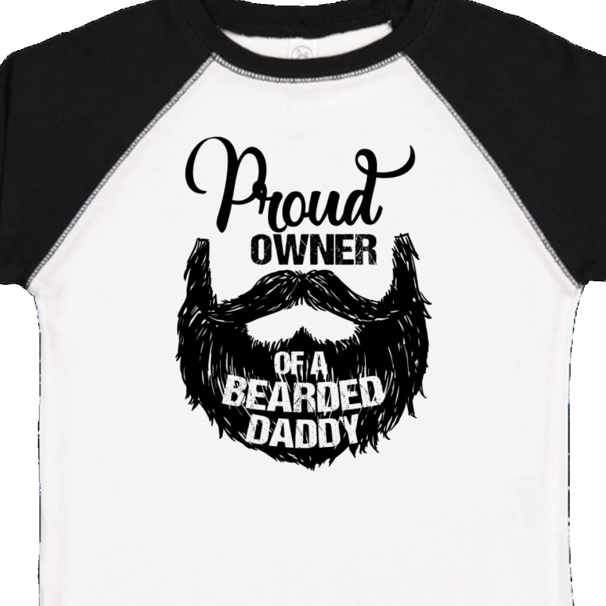 Inktastic-Proud-Owner-Of-A-Bearded-Daddy-Toddler-T-Shirt-Men-Beards-Tattoos-Baby thumbnail 14