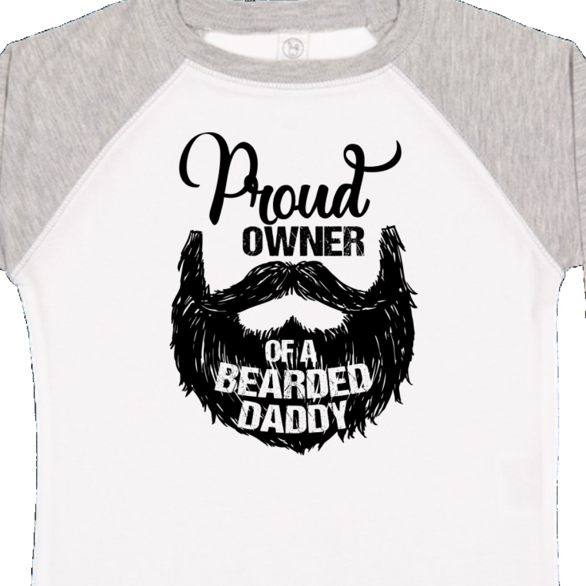 Inktastic-Proud-Owner-Of-A-Bearded-Daddy-Toddler-T-Shirt-Men-Beards-Tattoos-Baby thumbnail 16