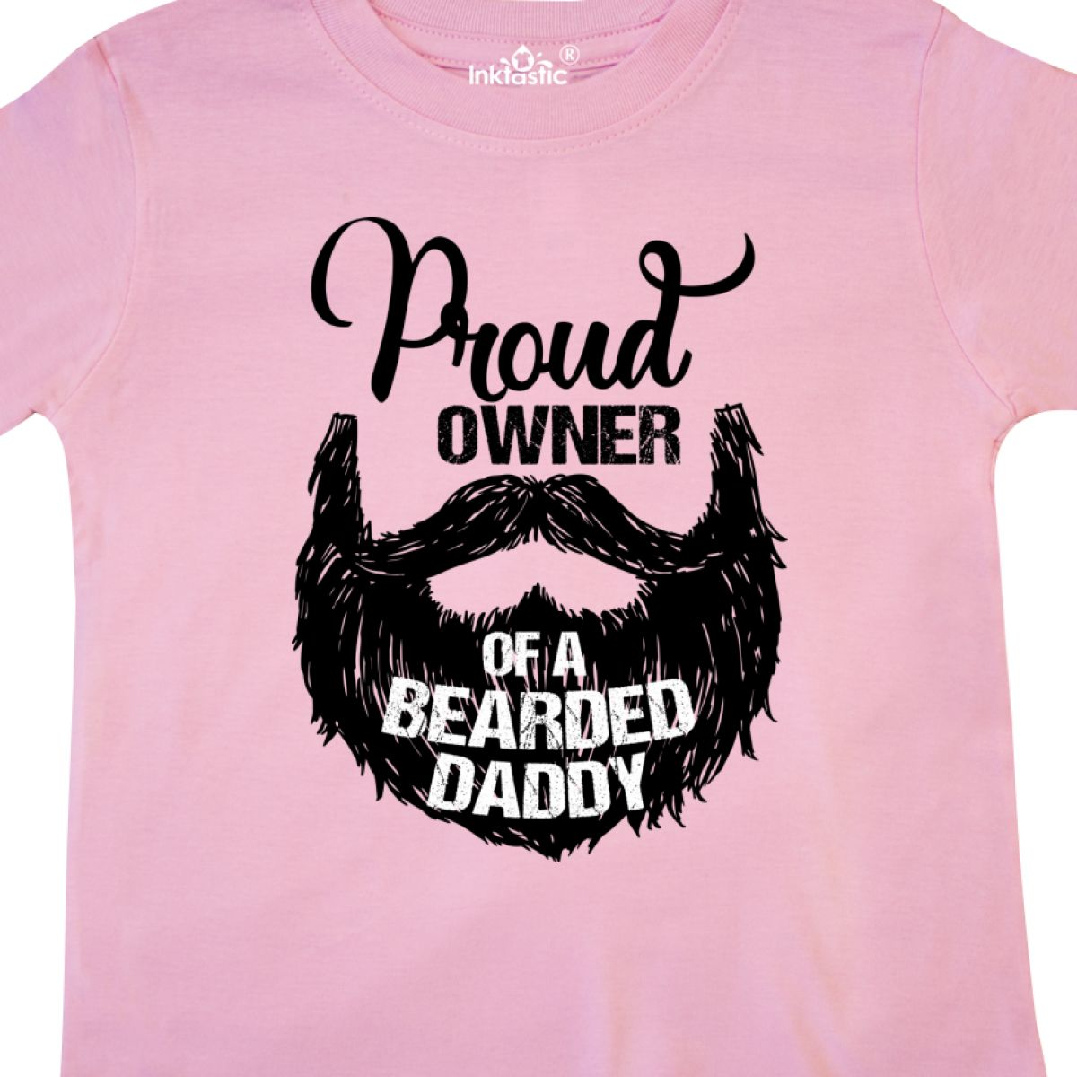 Inktastic-Proud-Owner-Of-A-Bearded-Daddy-Toddler-T-Shirt-Men-Beards-Tattoos-Baby thumbnail 10
