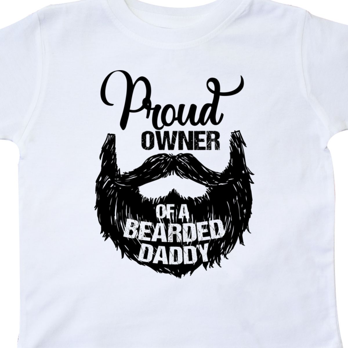 Inktastic-Proud-Owner-Of-A-Bearded-Daddy-Toddler-T-Shirt-Men-Beards-Tattoos-Baby thumbnail 12
