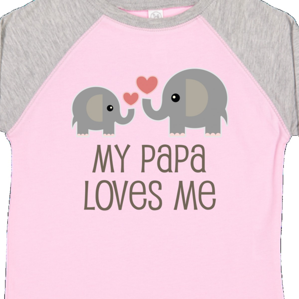 Inktastic-My-Papa-Loves-Me-Grandchild-Toddler-T-Shirt-Gift-From-Grandpa-Elephant thumbnail 12