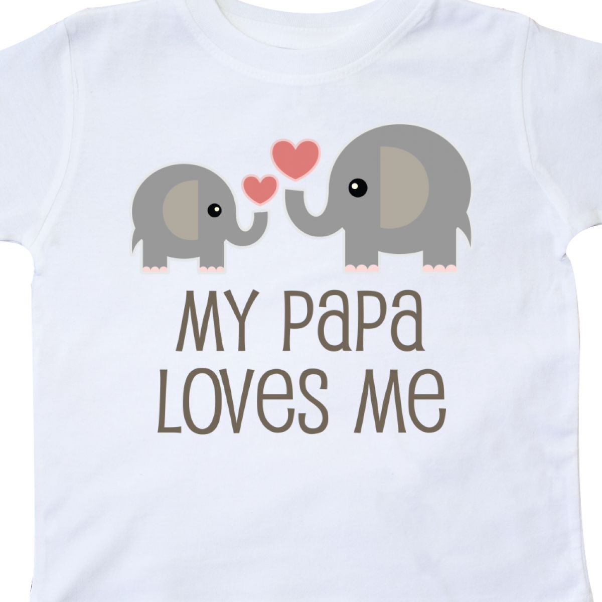 Inktastic-My-Papa-Loves-Me-Grandchild-Toddler-T-Shirt-Gift-From-Grandpa-Elephant thumbnail 18