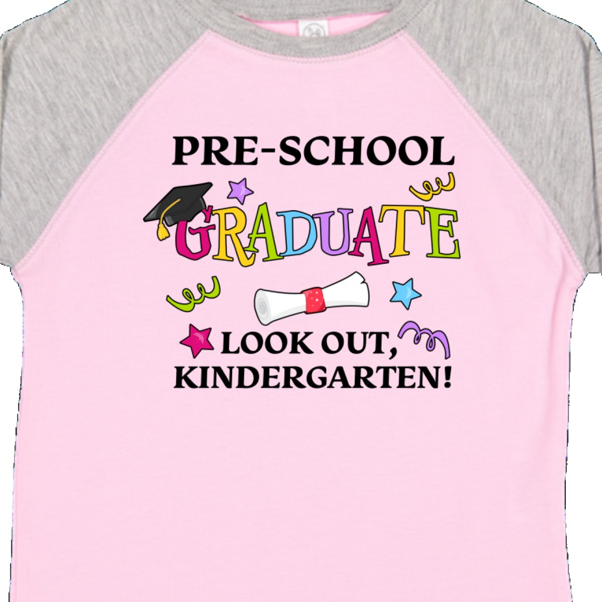 Inktastic-Pre-School-Graduate-Look-Out-Kindergarten-Toddler-T-Shirt-Graduation thumbnail 10