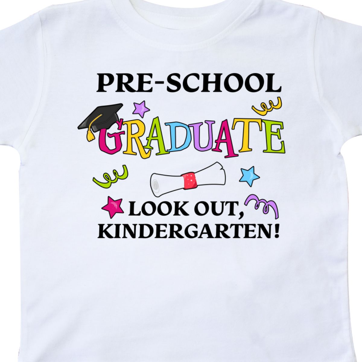 Inktastic-Pre-School-Graduate-Look-Out-Kindergarten-Toddler-T-Shirt-Graduation thumbnail 12