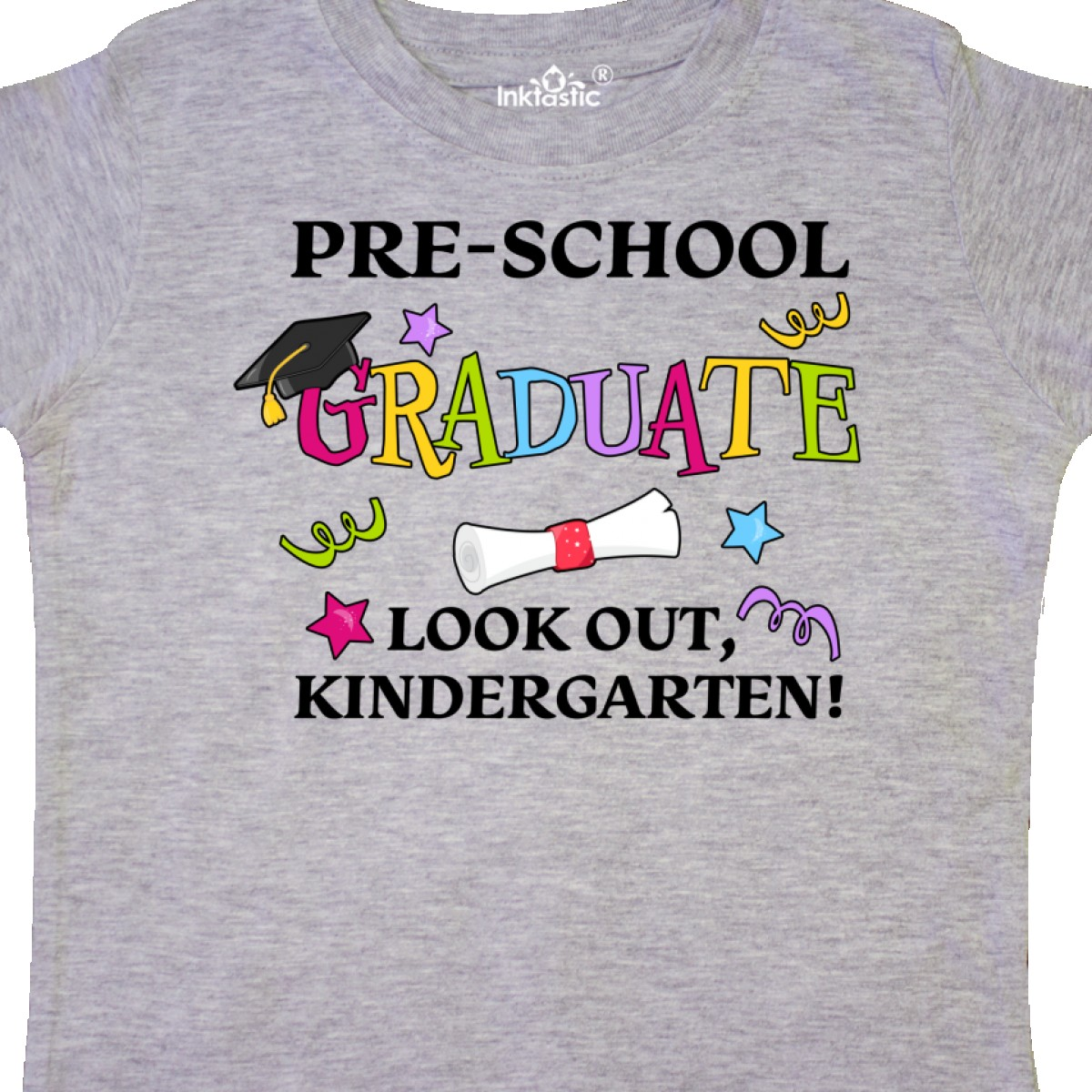 Inktastic-Pre-School-Graduate-Look-Out-Kindergarten-Toddler-T-Shirt-Graduation thumbnail 4