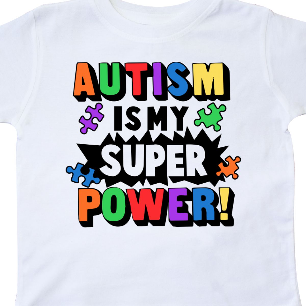 Inktastic-Autism-Is-My-Super-Power-With-Puzzle-Pieces-Toddler-T-Shirt-Awareness thumbnail 22
