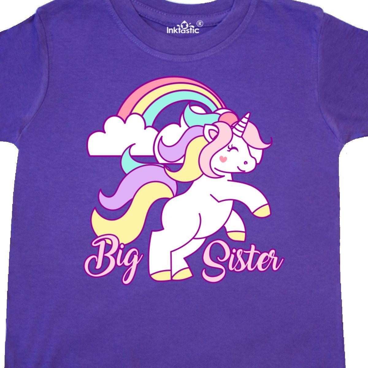Inktastic-Big-Sister-Unicorn-Toddler-T-Shirt-Fantasy-Happy-Child-Preschooler-Kid thumbnail 12