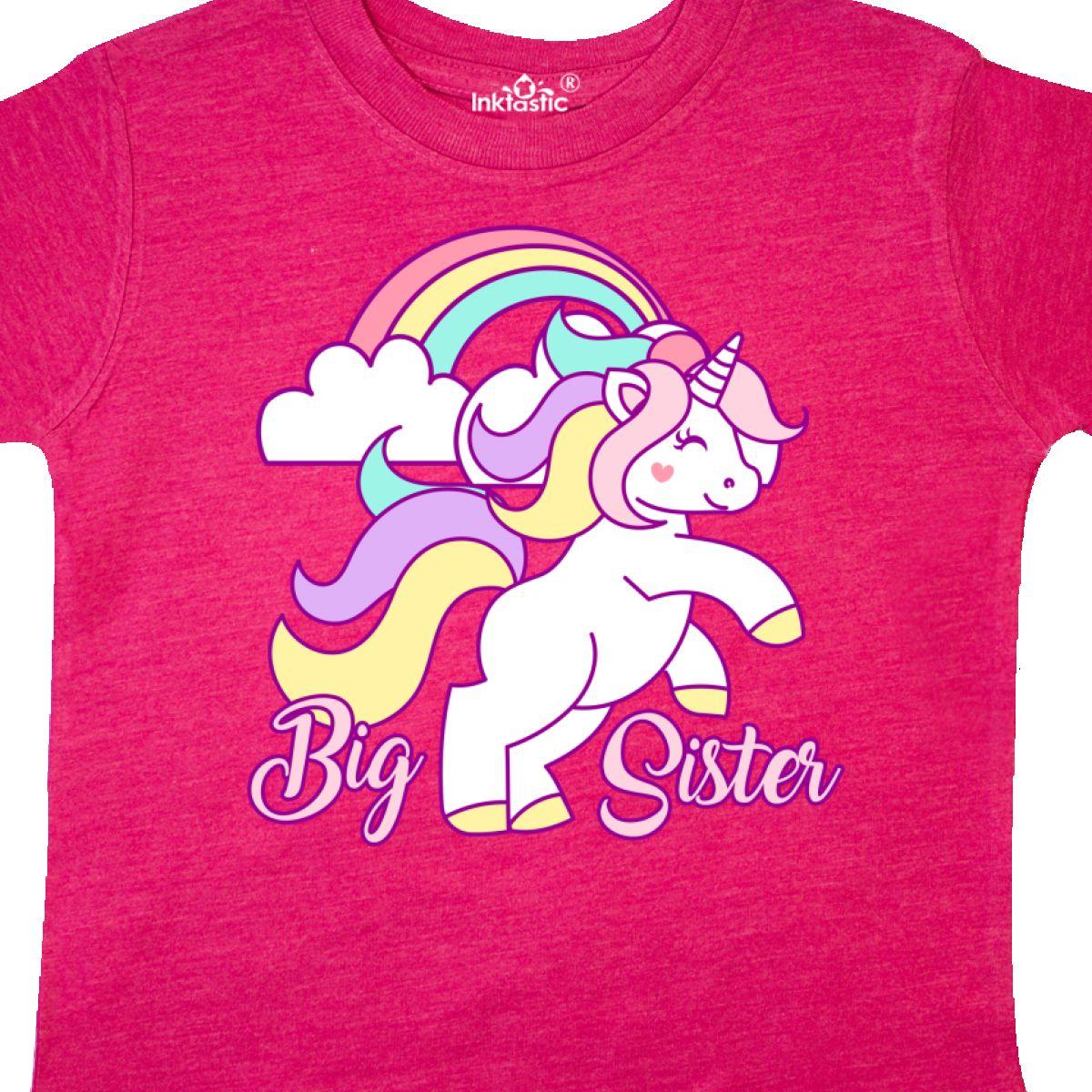 Inktastic-Big-Sister-Unicorn-Toddler-T-Shirt-Fantasy-Happy-Child-Preschooler-Kid thumbnail 14