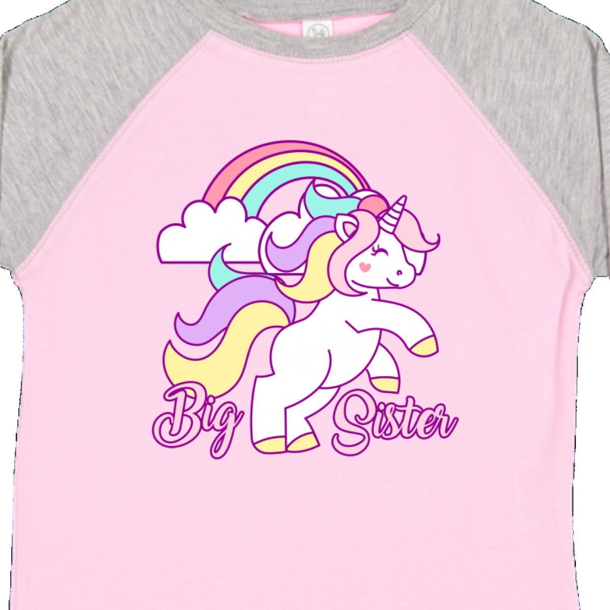 Inktastic-Big-Sister-Unicorn-Toddler-T-Shirt-Fantasy-Happy-Child-Preschooler-Kid thumbnail 10