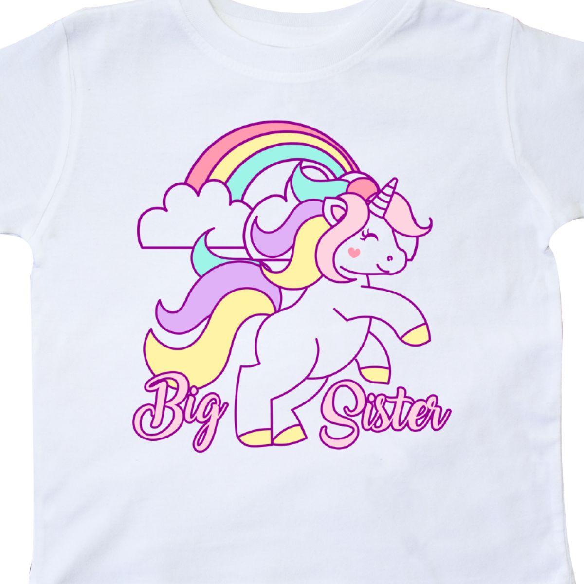 Inktastic-Big-Sister-Unicorn-Toddler-T-Shirt-Fantasy-Happy-Child-Preschooler-Kid thumbnail 16