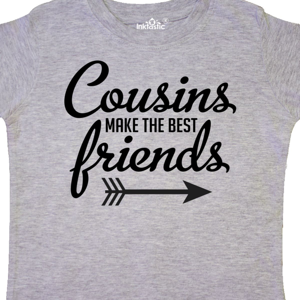 Unisex Clothing Tops & T-shirts Inktastic Cousins Make The Best Friends Youth T-shirt Cousin Crew Childs Family