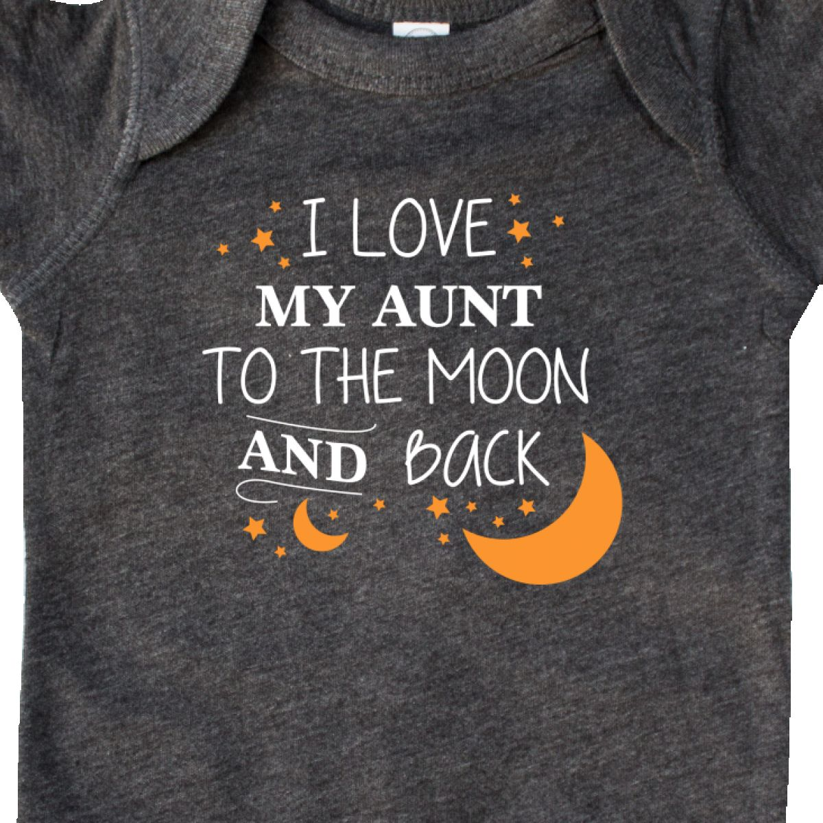 d3be3303a Inktastic I Love My Aunt To The Moon And Back Infant Creeper Family ...