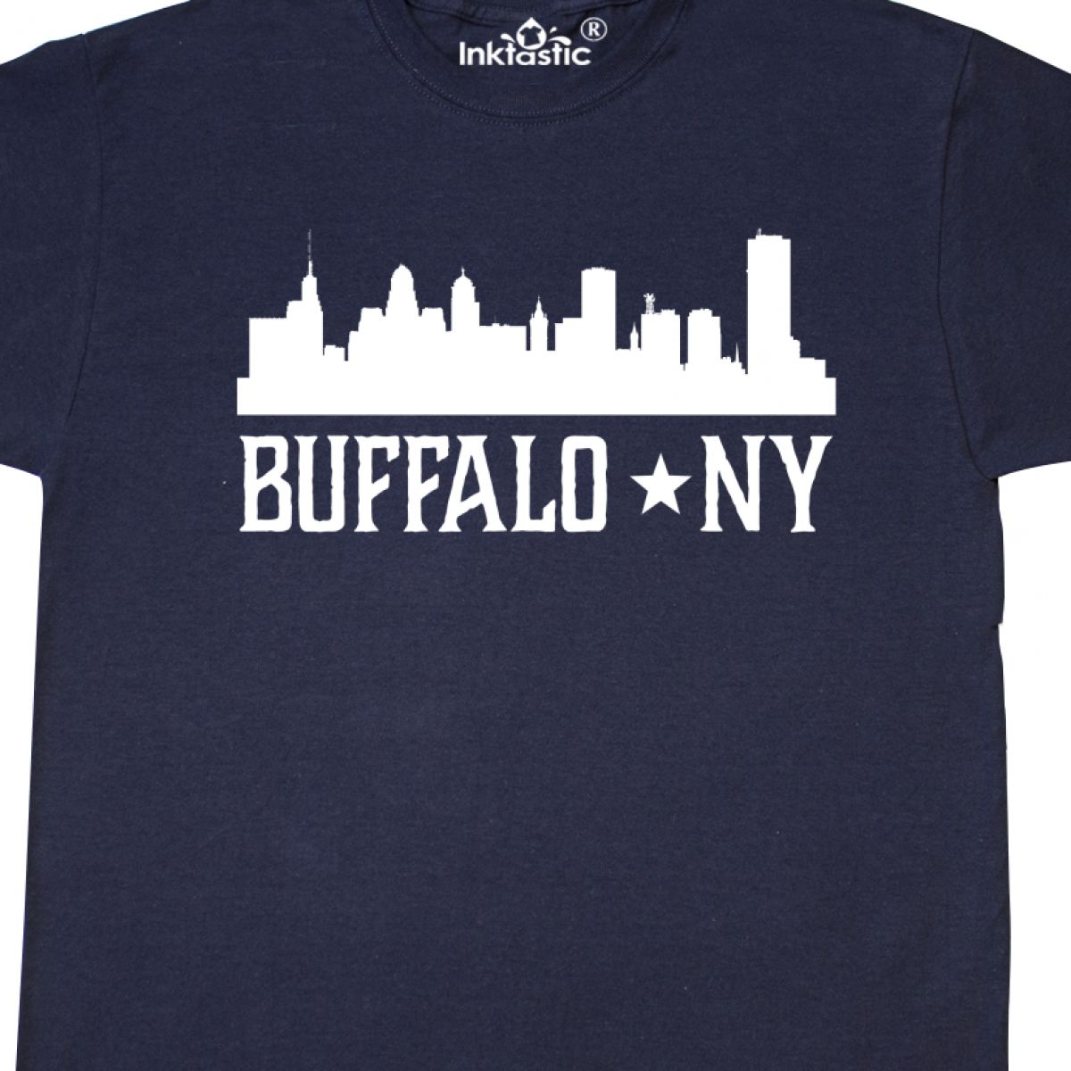Inktastic New York State Word Salad T-Shirt Home Empire City Upstate Lake Placid