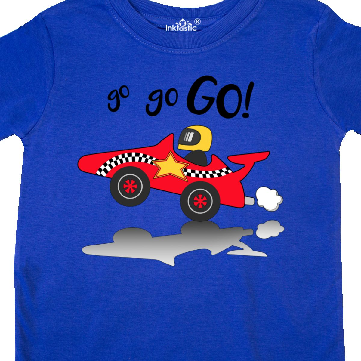 Inktastic-Go-Go-Go-Red-Racing-Car-Toddler-T-Shirt-Cars-Kids-Race-Speed-Driving thumbnail 4