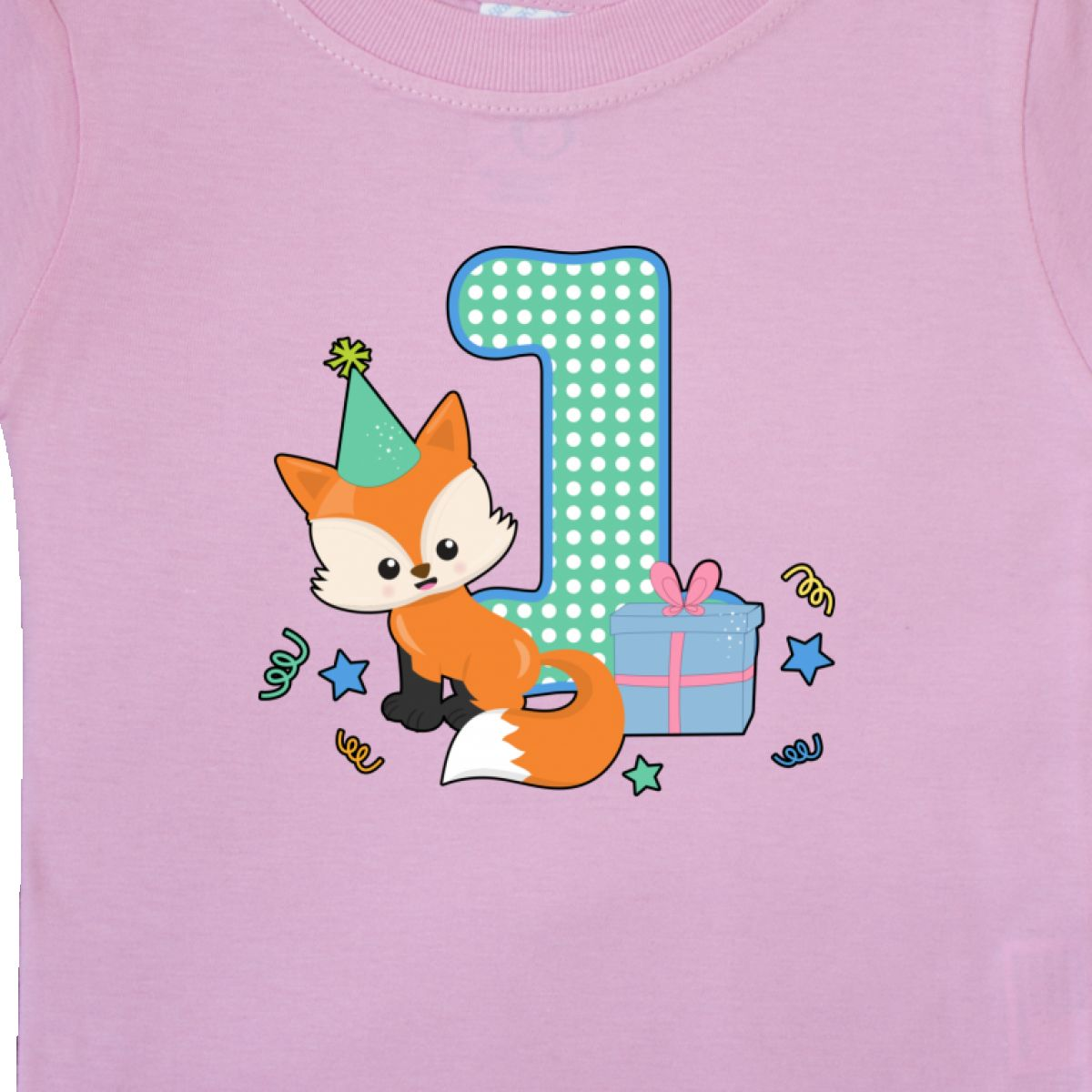 Inktastic Im 1 Years Old With Fox Baby