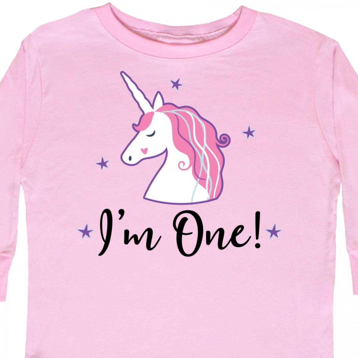 bca719ea Inktastic-1st-Birthday-Unicorn-Toddler-Long-Sleeve-T-