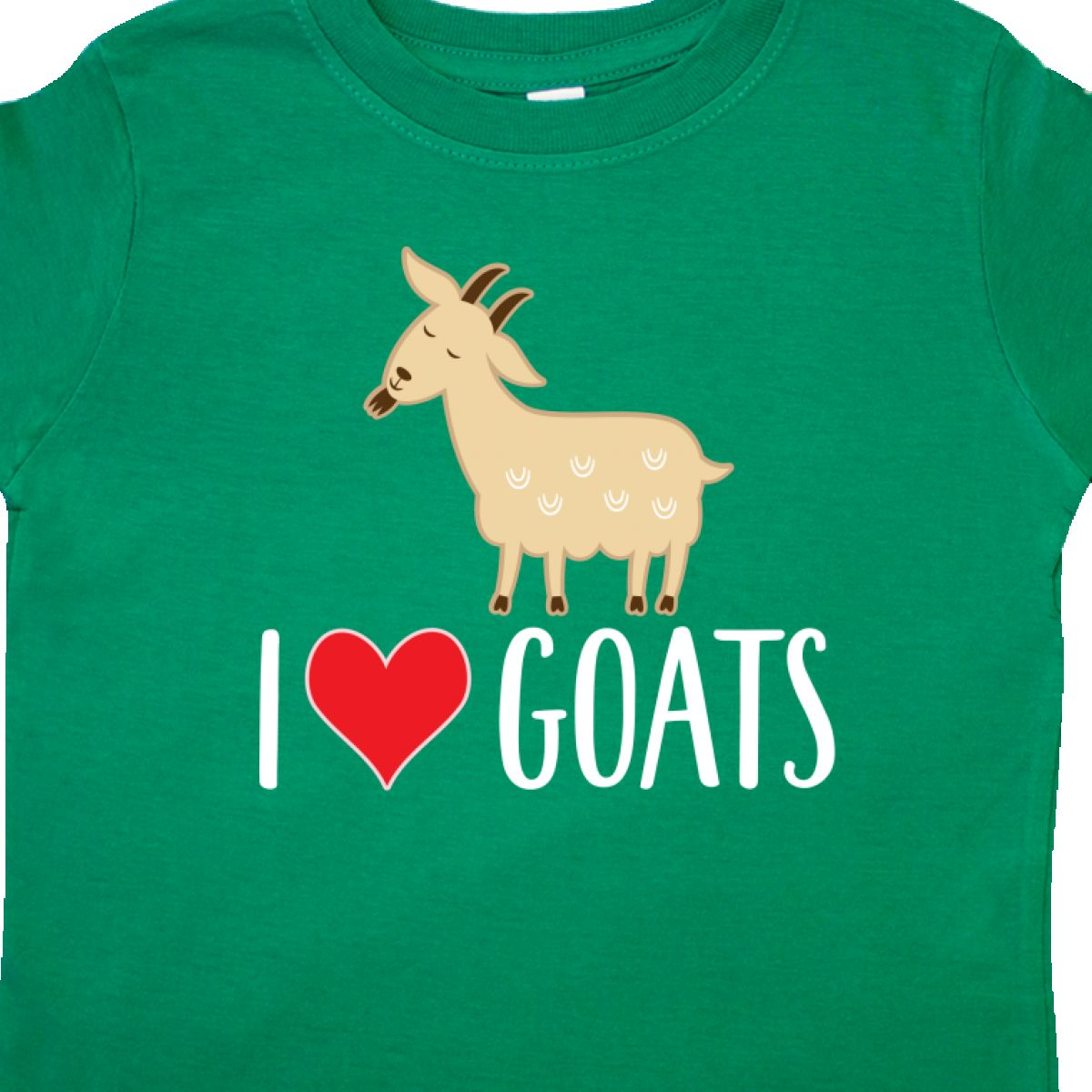 Inktastic-Goat-Cute-I-Love-Goats-Farm-Animal-Toddler-T-Shirt-Lover-Farmer-Gift thumbnail 6