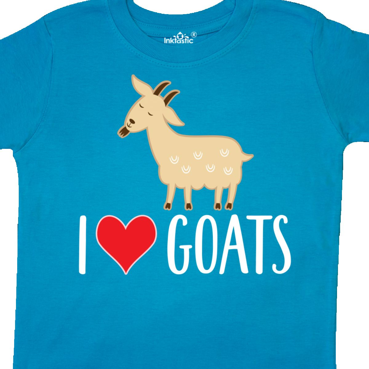 Inktastic-Goat-Cute-I-Love-Goats-Farm-Animal-Toddler-T-Shirt-Lover-Farmer-Gift thumbnail 16