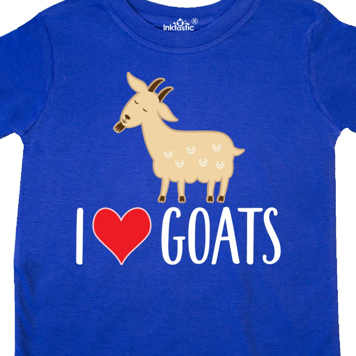 Inktastic-Goat-Cute-I-Love-Goats-Farm-Animal-Toddler-T-Shirt-Lover-Farmer-Gift thumbnail 14