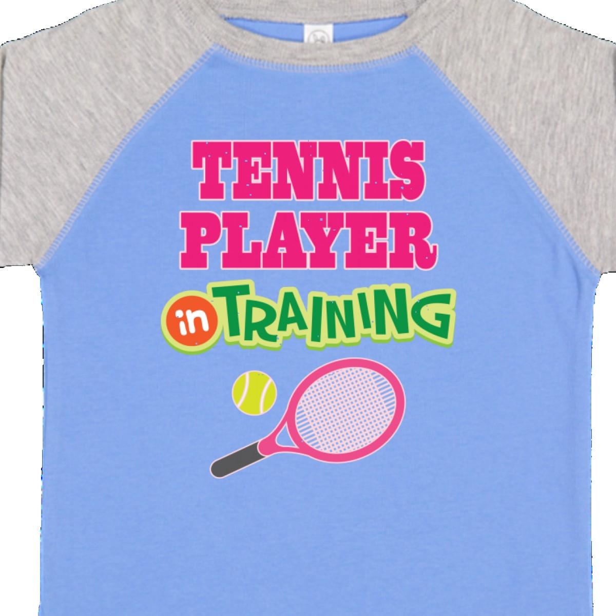 inktastic Tennis Chick Toddler T-Shirt