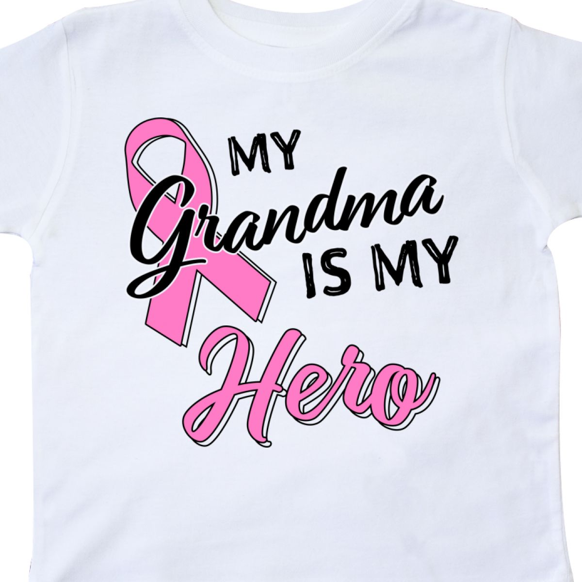 Inktastic-My-Grandma-Is-My-Hero-Breast-Cancer-Awareness-Toddler-T-Shirt-Pink thumbnail 8