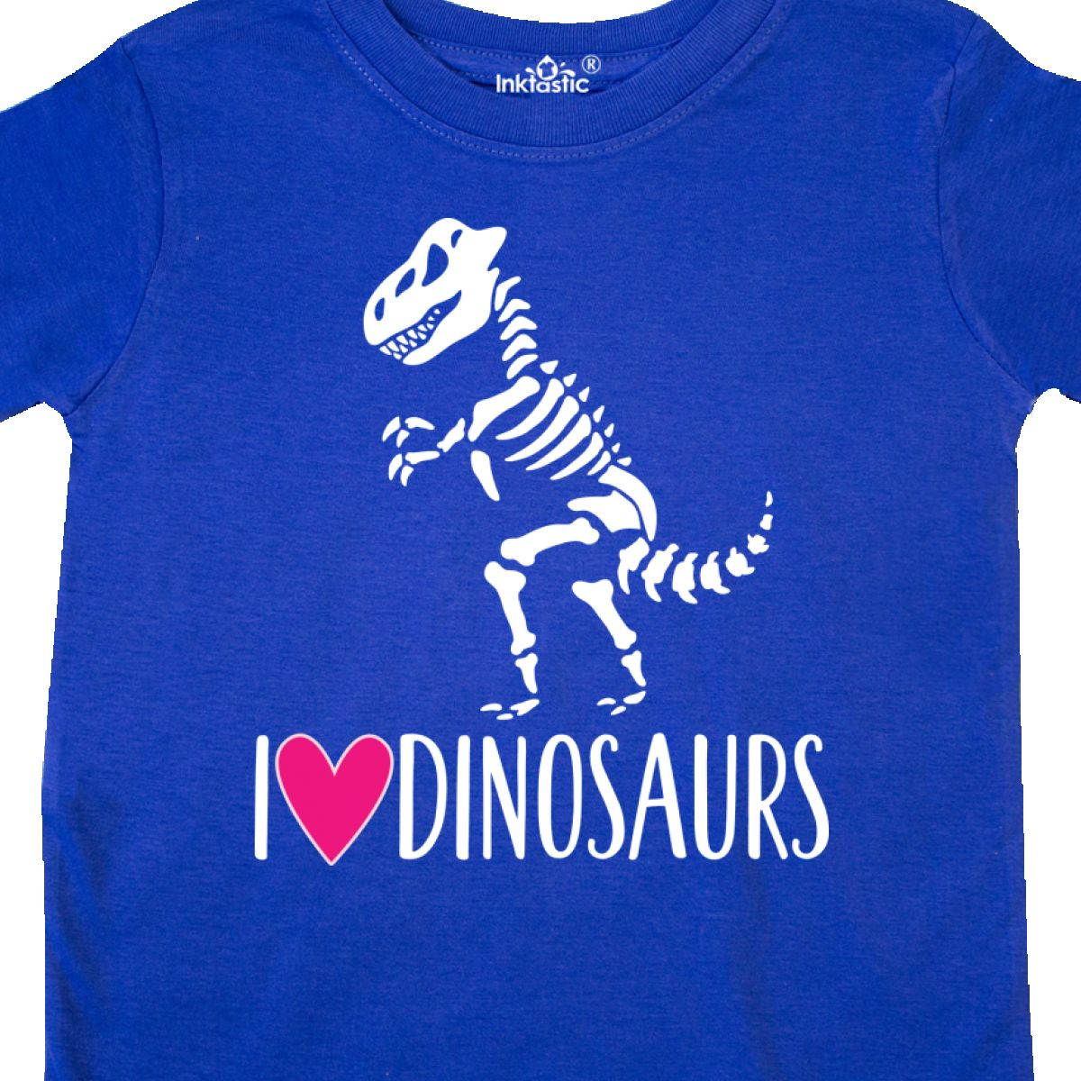 43d3c5a7 Inktastic Dinosaur Tyrannosaur Skeleton Girls Toddler T-Shirt Dino ...