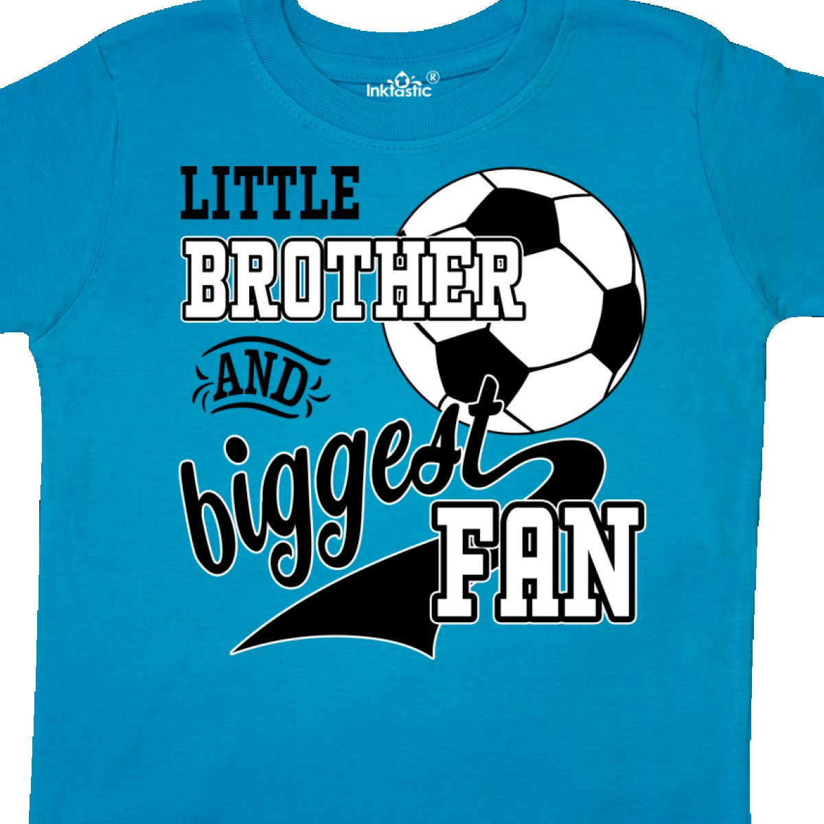 Inktastic-Little-Brother-And-Biggest-Fan-Soccer-Player-Toddler-T-Shirt-Sports thumbnail 18