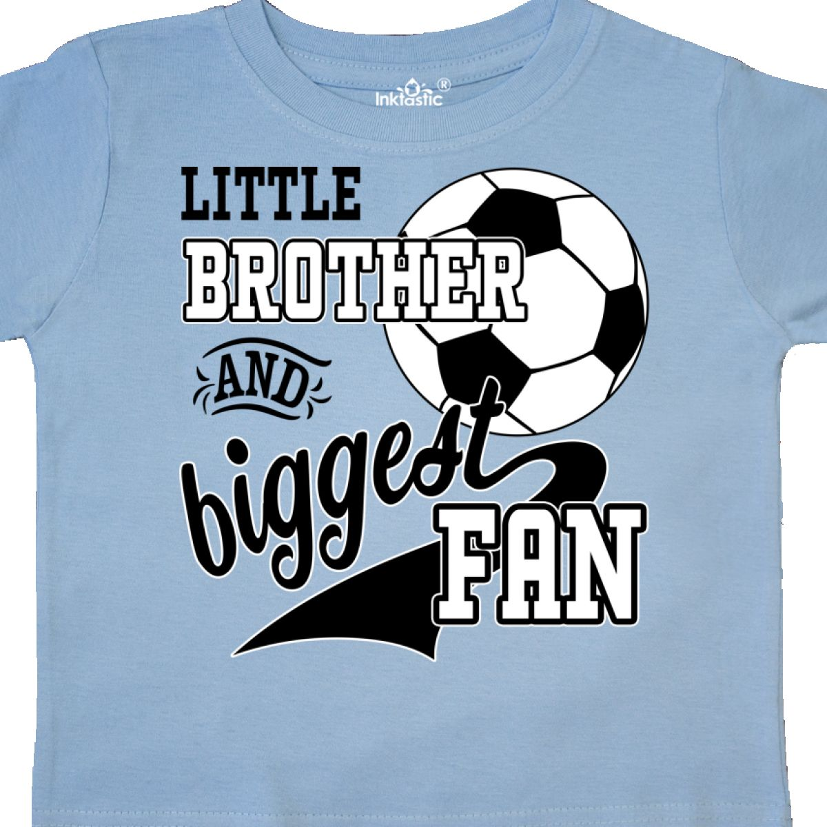 Inktastic-Little-Brother-And-Biggest-Fan-Soccer-Player-Toddler-T-Shirt-Sports thumbnail 10