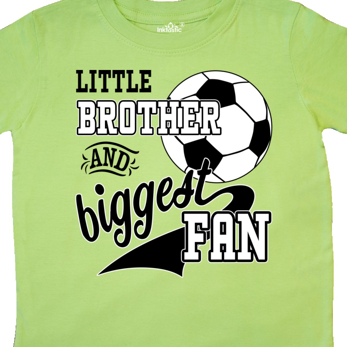 Inktastic-Little-Brother-And-Biggest-Fan-Soccer-Player-Toddler-T-Shirt-Sports thumbnail 8