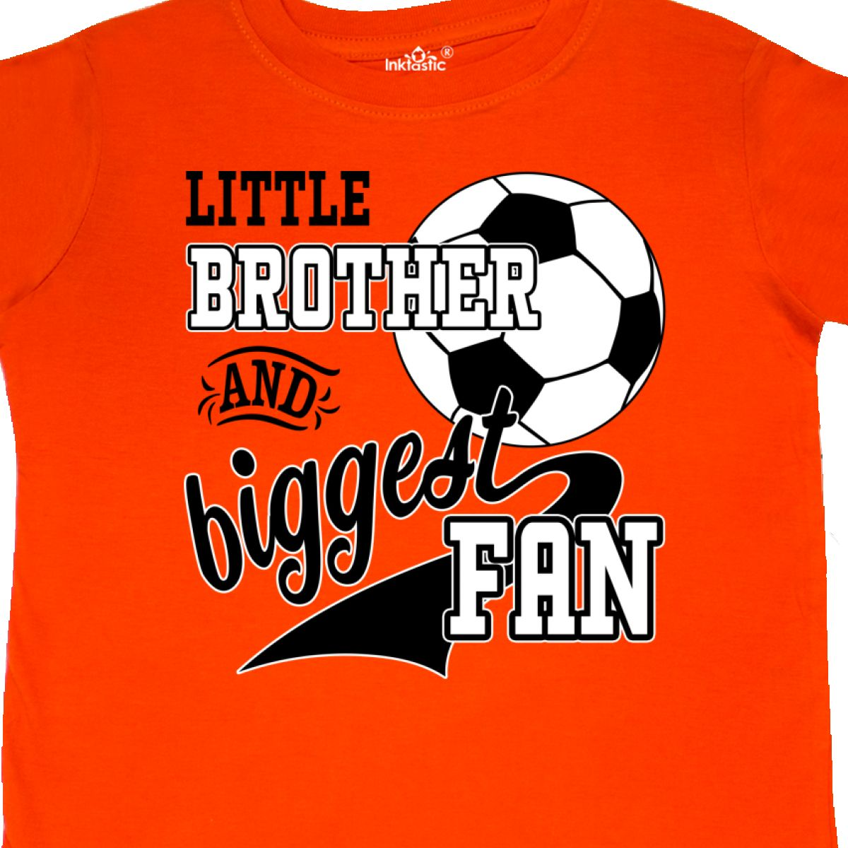 Inktastic-Little-Brother-And-Biggest-Fan-Soccer-Player-Toddler-T-Shirt-Sports thumbnail 12