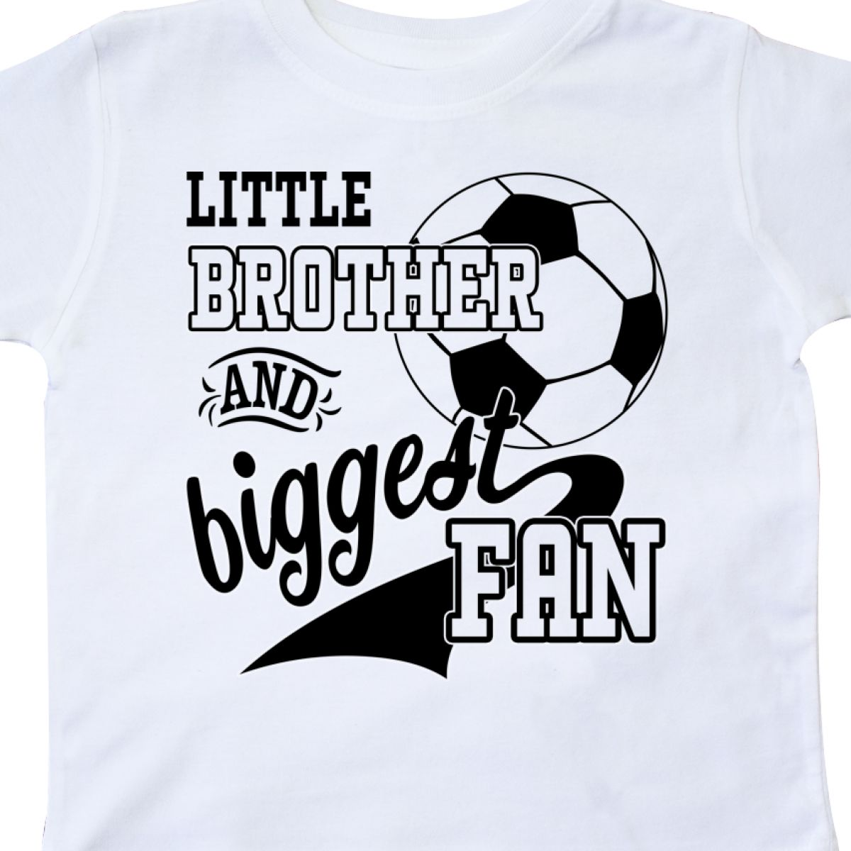Inktastic-Little-Brother-And-Biggest-Fan-Soccer-Player-Toddler-T-Shirt-Sports thumbnail 20