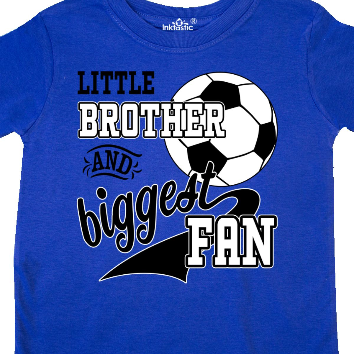 Inktastic-Little-Brother-And-Biggest-Fan-Soccer-Player-Toddler-T-Shirt-Sports thumbnail 16