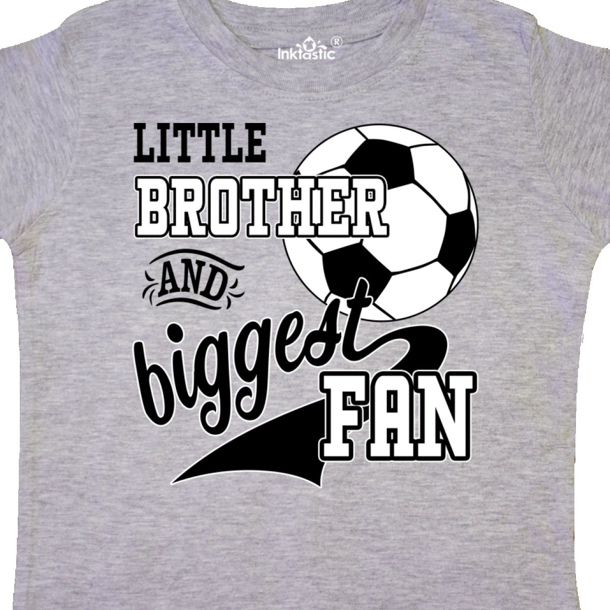 Inktastic-Little-Brother-And-Biggest-Fan-Soccer-Player-Toddler-T-Shirt-Sports thumbnail 4