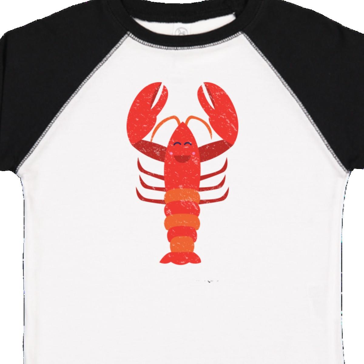 Inktastic-Lobster-Distressed-Ocean-Creature-Toddler-T-Shirt-Sea-Crustacean-Cute thumbnail 14