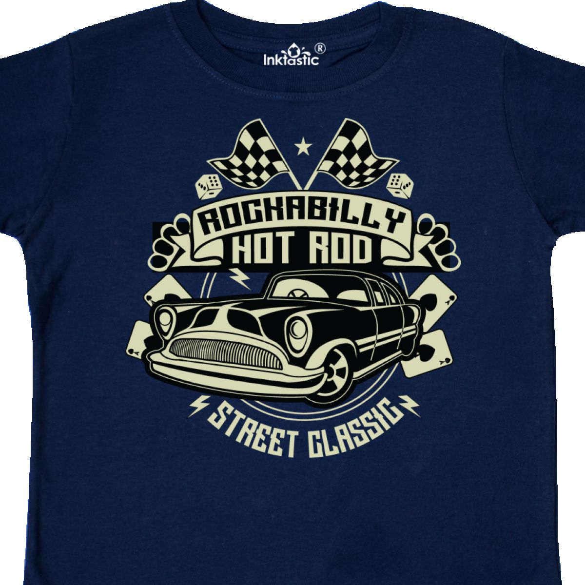 Inktastic-Rockabilly-Hotrod-Toddler-T-Shirt-Hot-Rod-Vintage-Car-Racing-Street thumbnail 10