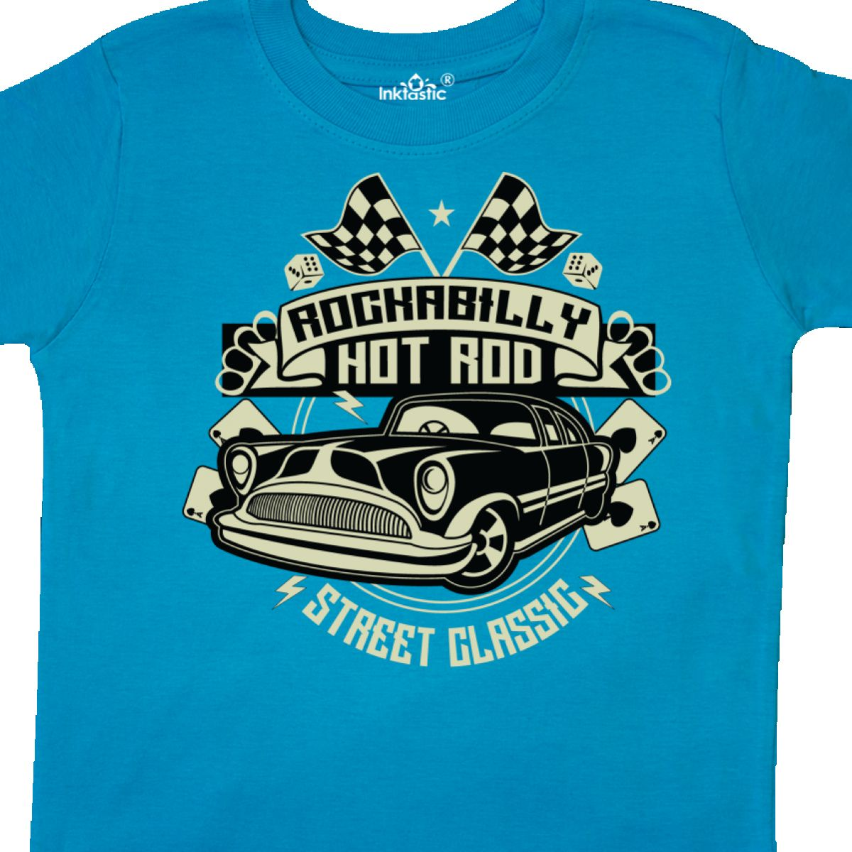 Inktastic-Rockabilly-Hotrod-Toddler-T-Shirt-Hot-Rod-Vintage-Car-Racing-Street thumbnail 14