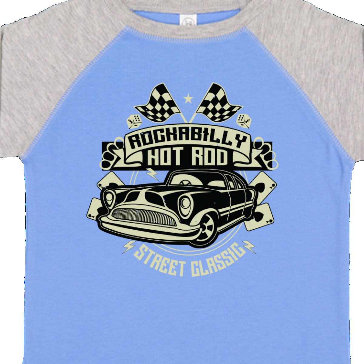 Inktastic-Rockabilly-Hotrod-Toddler-T-Shirt-Hot-Rod-Vintage-Car-Racing-Street thumbnail 8