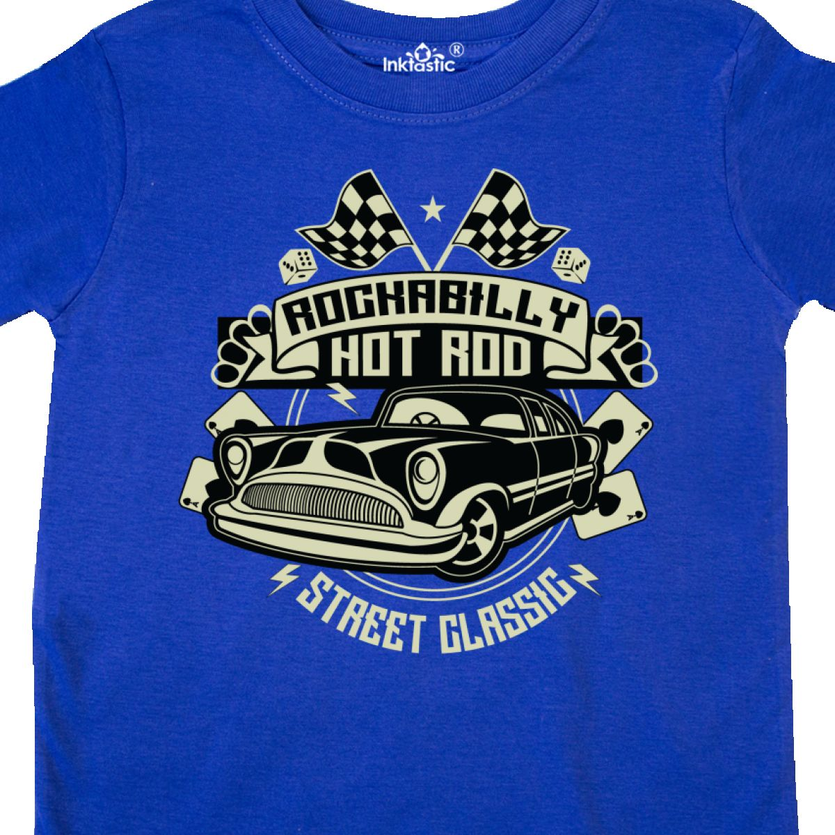 Inktastic-Rockabilly-Hotrod-Toddler-T-Shirt-Hot-Rod-Vintage-Car-Racing-Street thumbnail 12