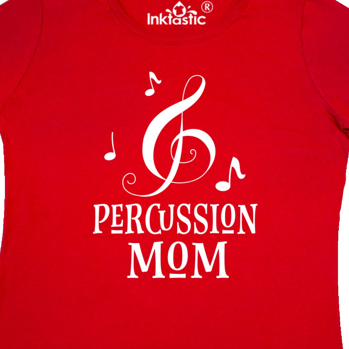 5f1ab44ee Inktastic Percussion Mom Marching Band Drumline Gift Women's T-Shirt ...