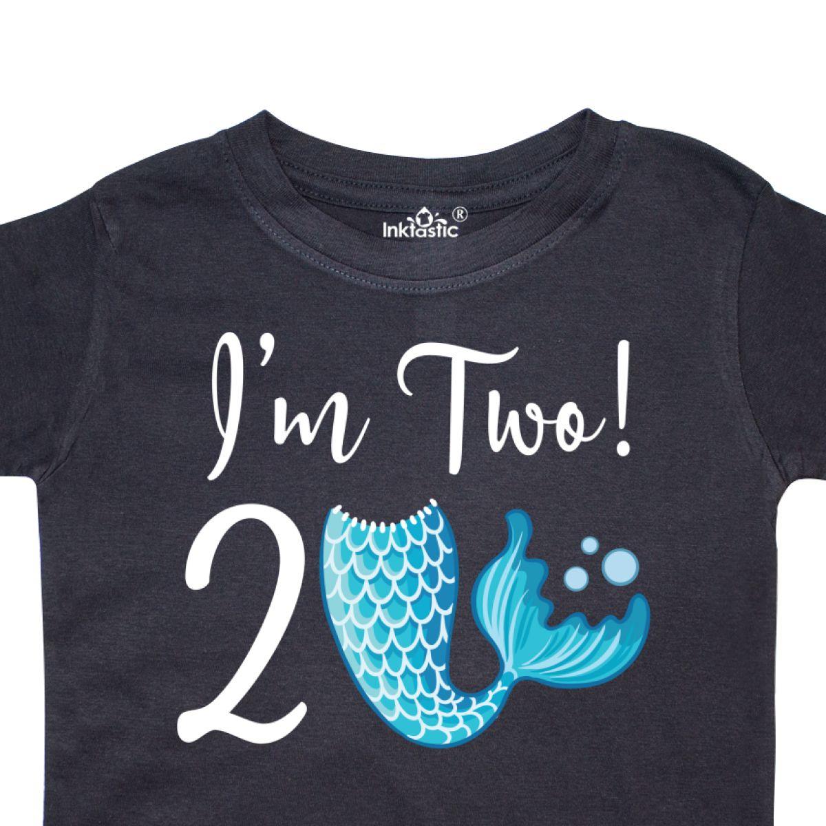 Inktastic 2nd Birthday Mermaid Party Toddler T Shirt