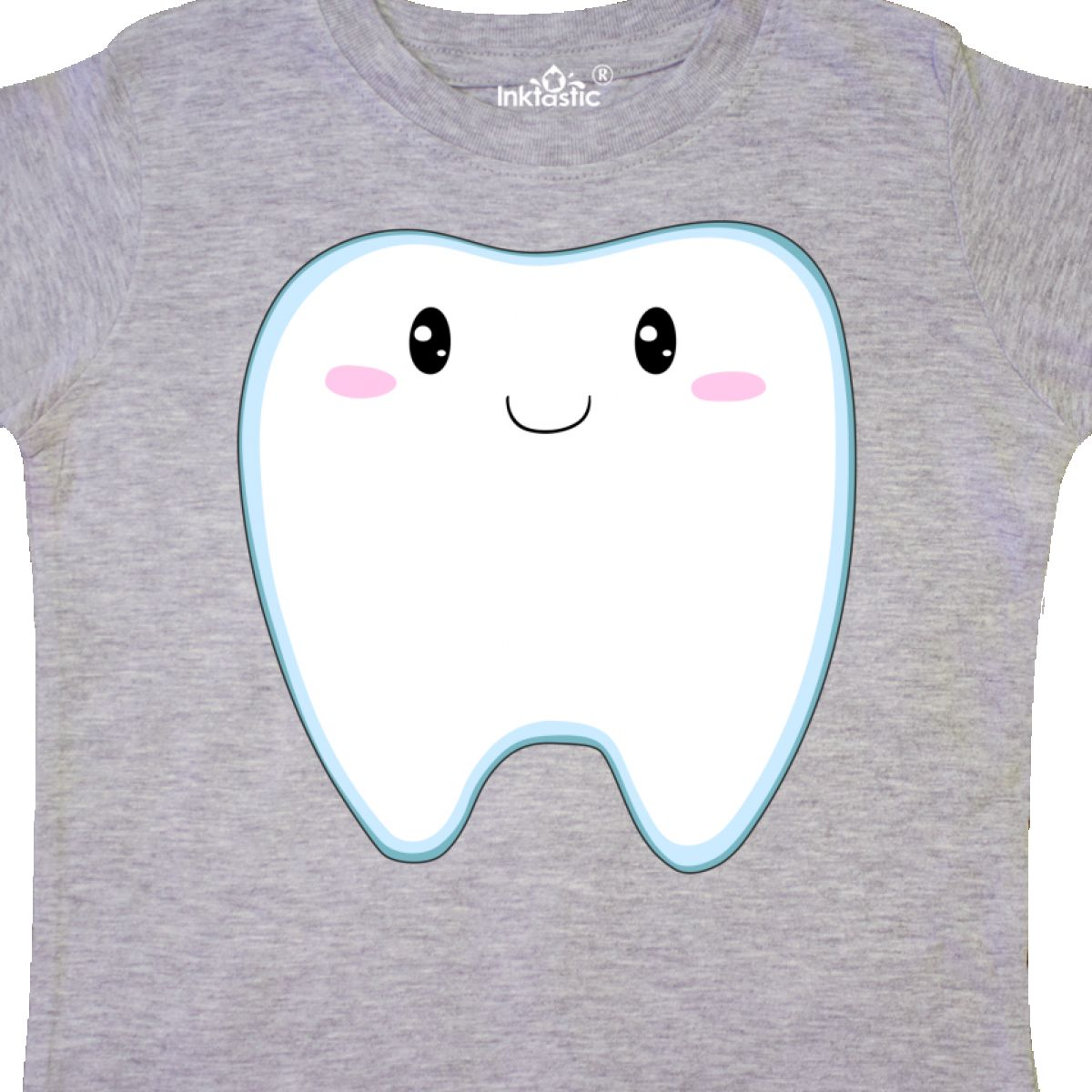 Inktastic-Cute-Tooth-Toddler-T-Shirt-First-New-Dentist-Dental-Teeth-Loose-Unisex thumbnail 4